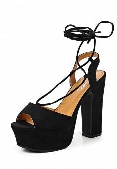 Босоножки, Janessa, цвет: черный. Артикул: JA026AWTUA97. Janessa