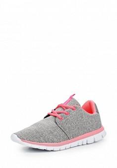 Кроссовки, Jennyfer, цвет: серый. Артикул: JE008AWQLG34. Женская обувь / Кроссовки и кеды