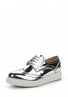 Ботинки, Jennyfer, цвет: серебряный. Артикул: JE008AWRIM25. Женская обувь / Ботинки