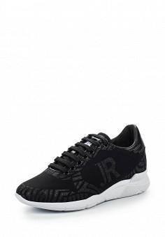 Кроссовки, John Richmond, цвет: черный. Артикул: JO003AWQEN02. Премиум / Обувь / Кроссовки и кеды / Кроссовки