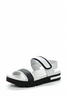 Сандалии, Jog Dog, цвет: черно-белый. Артикул: JO019AWQFF46. Премиум / Обувь / Сандалии