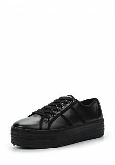 Кеды, Justin, цвет: черный. Артикул: JU015AWHOW68. Женская обувь / Кроссовки и кеды