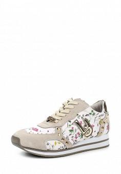 Кроссовки, Liu Jo, цвет: бежевый. Артикул: LI687AWOQE32. Премиум / Обувь