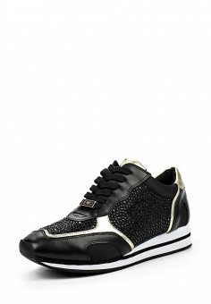 Кроссовки, Liu Jo, цвет: черный. Артикул: LI687AWOQE48. Премиум / Обувь / Кроссовки и кеды / Кроссовки