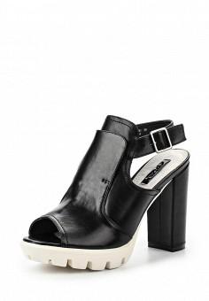 Босоножки, LOST INK, цвет: черный. Артикул: LO019AWGIT44. Женская обувь / Босоножки