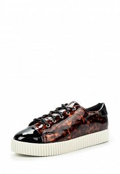 Кеды, LOST INK, цвет: коричневый. Артикул: LO019AWJZY33. Женская обувь / Кроссовки и кеды