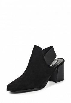 Босоножки, LOST INK, цвет: черный. Артикул: LO019AWOMV33. Женская обувь / Босоножки