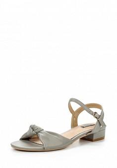 Босоножки, LOST INK, цвет: серый. Артикул: LO019AWQLF07. Женская обувь / Босоножки