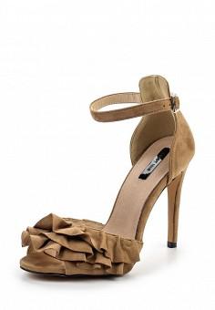 Босоножки, LOST INK, цвет: коричневый. Артикул: LO019AWRCX34. Женская обувь / Босоножки