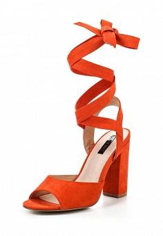 Босоножки, LOST INK, цвет: оранжевый. Артикул: LO019AWRIS34. Женская обувь / Босоножки