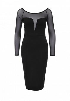Платье, LOST INK, цвет: черный. Артикул: LO019EWNOC26. Женская одежда