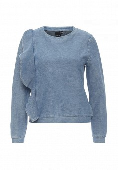 Свитшот, LOST INK, цвет: голубой. Артикул: LO019EWOSG54. Женская одежда