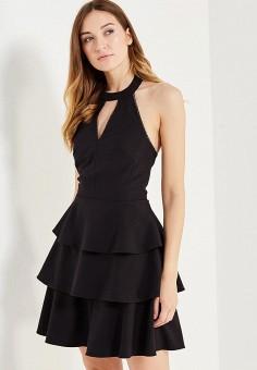Платье, Love Republic, цвет: черный. Артикул: LO022EWUTA18. Женская одежда / Платья и сарафаны / Летние платья