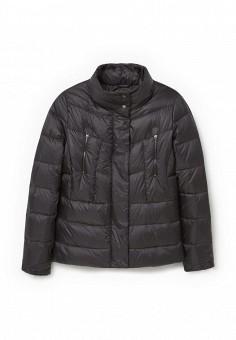 Пуховик, Mango, цвет: черный. Артикул: MA002EWLKH11. Женская одежда / Верхняя одежда / Пуховики и зимние куртки