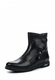 Полусапоги, Mabu, цвет: черный. Артикул: MA105AWJHR83. Женская обувь / Сапоги