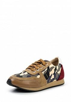 Кроссовки, Martin Pescatore, цвет: коричневый. Артикул: MA108AWQPZ86. Женская обувь / Кроссовки и кеды / Кроссовки