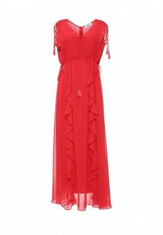 Платье, Max&Co, цвет: красный. Артикул: MA111EWOLU52. Премиум / Одежда / Платья и сарафаны