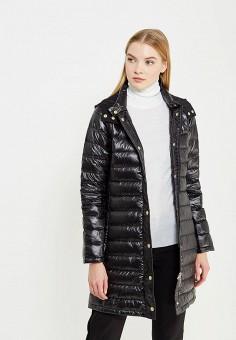 Пуховик, Max&Co, цвет: черный. Артикул: MA111EWUBZ26. Премиум / Одежда / Верхняя одежда / Пуховики и зимние куртки
