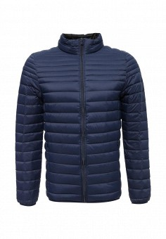 Пуховик, MeZaGuz, цвет: синий. Артикул: ME004EMUTT66. Мужская одежда / Верхняя одежда / Пуховики и зимние куртки