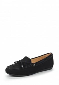 Мокасины, Michael Michael Kors, цвет: черный. Артикул: MI048AWUWP76. Женская обувь / Мокасины и топсайдеры