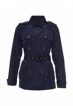 Плащ, Michael Michael Kors, цвет: синий. Артикул: MI048EWQQP65. Женская одежда / Верхняя одежда / Плащи и тренчкоты