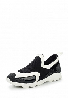Кроссовки, MM6 Maison Margiela, цвет: черно-белый. Артикул: MM004AWOOP38. Премиум / Обувь / Кроссовки и кеды / Кроссовки