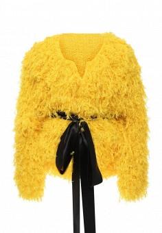 Шуба, Seanna, цвет: желтый. Артикул: MP002XW0GFRI. Женская одежда / Верхняя одежда / Шубы и дубленки