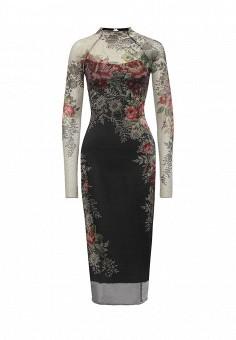 Платье, Michal Nergin, цвет: черный. Артикул: MP002XW1GIXK. Женская одежда / Платья и сарафаны / Вечерние платья