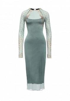 Платье, Michal Nergin, цвет: мятный. Артикул: MP002XW1GIXX. Женская одежда / Платья и сарафаны / Вечерние платья