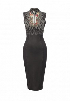 Платье, Michal Nergin, цвет: коричневый. Артикул: MP002XW1GIXY. Женская одежда / Платья и сарафаны / Вечерние платья