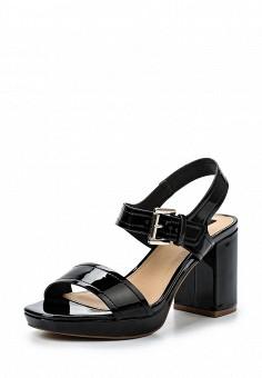 Босоножки, MTNG, цвет: черный. Артикул: MT001AWSBB30. Женская обувь / Босоножки