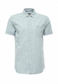Рубашка, Mustang, цвет: мятный. Артикул: MU454EMPMI42. Мужская одежда / Рубашки