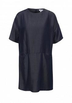 Платье джинсовое, Native Youth, цвет: синий. Артикул: NA022EWSFC45. Женская одежда / Платья и сарафаны / Летние платья