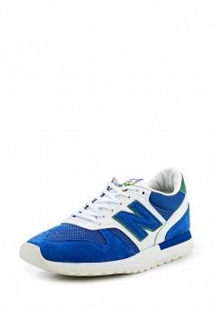 Кроссовки, New Balance, цвет: синий. Артикул: NE007AMPDJ42. Мужская обувь