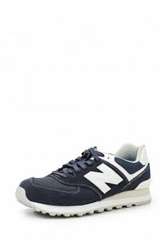 Кроссовки, New Balance, цвет: синий. Артикул: NE007AMPDJ78. Мужская обувь
