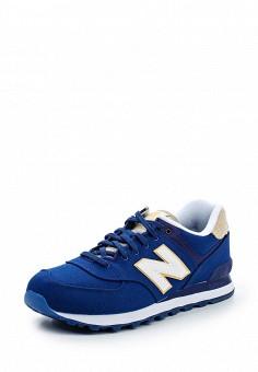 Кроссовки, New Balance, цвет: синий. Артикул: NE007AMPDJ84. Мужская обувь