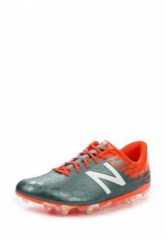 Бутсы, New Balance, цвет: серый. Артикул: NE007AMPEC76. Мужская обувь