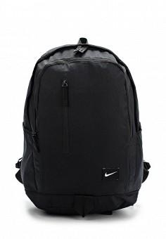 Рюкзак, Nike, цвет: черный. Артикул: NI464BUDUR55. Спорт / Сумки и рюкзаки