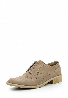 Ботинки, Obsel, цвет: бежевый. Артикул: OB005AWQEJ94. Женская обувь / Ботинки