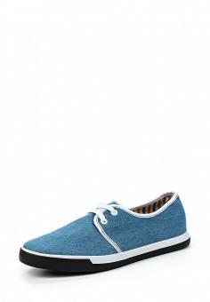 Кеды, oodji, цвет: синий. Артикул: OO001AMLAX33. Мужская обувь / Кроссовки и кеды