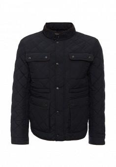 Куртка, oodji, цвет: синий. Артикул: OO001EMKXT33. Мужская одежда / Верхняя одежда