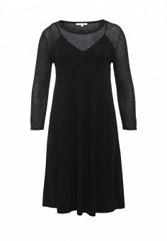 Платье, Patrizia Pepe, цвет: черный. Артикул: PA748EWPAE33. Премиум / Одежда / Платья и сарафаны