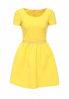 Платье, Patrizia Pepe, цвет: желтый. Артикул: PA748EWPAE37. Премиум / Одежда / Платья и сарафаны