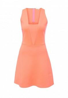 Платье, Patrizia Pepe, цвет: оранжевый. Артикул: PA748EWPTN04. Премиум / Одежда / Платья и сарафаны