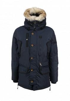 Пуховик, Pajar, цвет: синий. Артикул: PA998EMFXG78. Мужская одежда / Верхняя одежда / Пуховики и зимние куртки