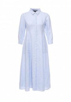 Платье, Pennyblack, цвет: голубой. Артикул: PE003EWOHV22. Премиум / Одежда / Платья и сарафаны