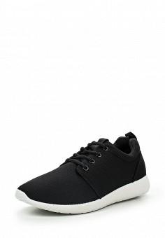 Кроссовки, Piazza Italia, цвет: черный. Артикул: PI022AMQJN20. Мужская обувь / Кроссовки и кеды / Кроссовки