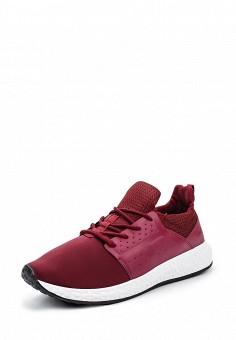 Кроссовки, Piazza Italia, цвет: бордовый. Артикул: PI022AMQJN23. Мужская обувь / Кроссовки и кеды / Кроссовки