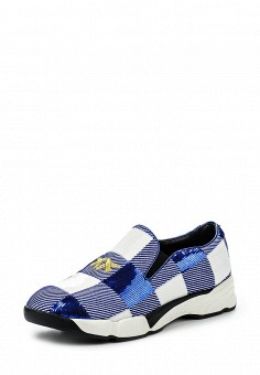 Кроссовки, Pinko, цвет: синий. Артикул: PI754AWOIF58. Премиум / Обувь / Кроссовки и кеды / Кроссовки
