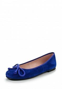 Балетки, Pretty Ballerinas, цвет: синий. Артикул: PR758AWRHD42. Премиум / Обувь / Балетки
